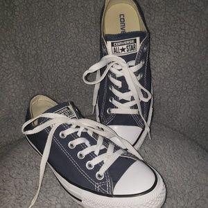 Converse Blue Tennis shoes